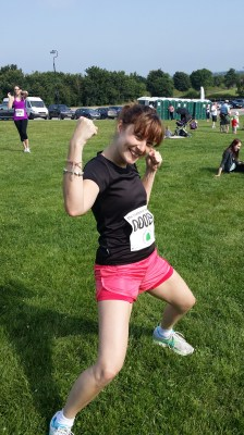 My first ever race - Cheltenham 5k 2014. Got a little more to do for the marathon!