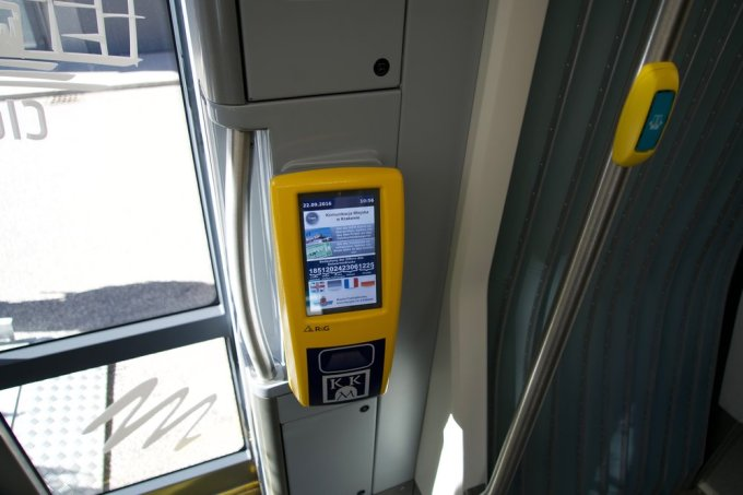 The newest in multi lingual onboard fare collection systems.