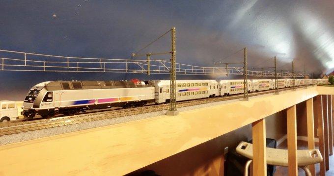 The new Atlas Model Railroad Company New Jersey Transit train set