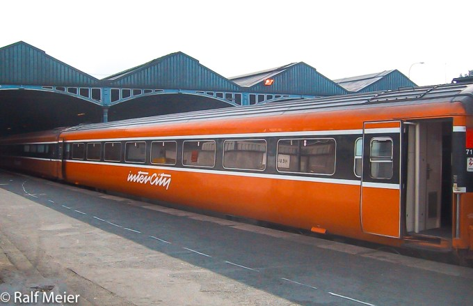 IRish Rail Coach