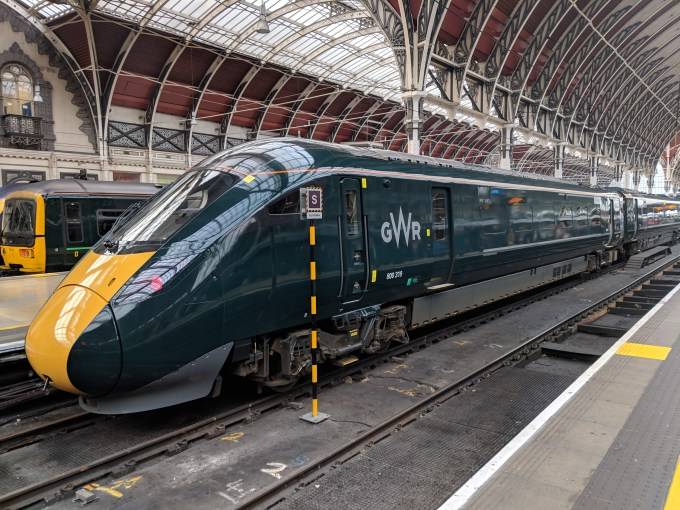 GWR Class 800 at London Paddington (Patrick Grother)