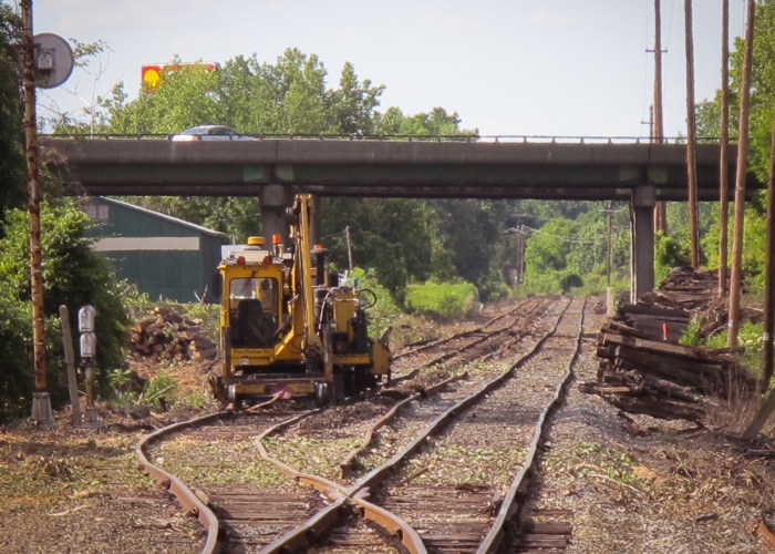 Pan Am's Conn River Line prior to reconstruction Northampton, MA - June 20, 2014