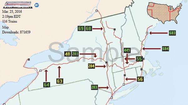 Status Map Sample