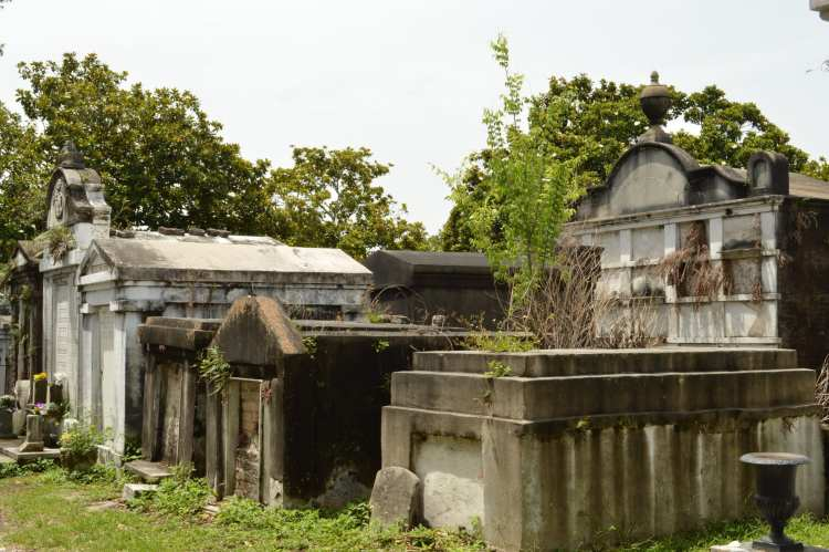 Tombs at Lafayette Cemetery