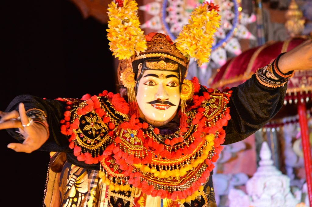 Don't miss a traditional Balinese dance performance during your 2 week Indonesia itinerary