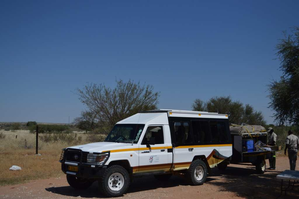 You'll need your own wheels to go on a camping trip in the Kalahari Desert