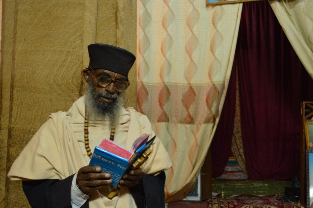 The priest at Wukro Chirkos is almost always around, making it the easiest of the Tigrai churches to visit