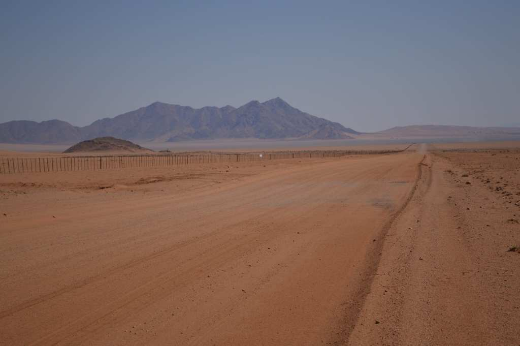 The long, lonely road to Sesriem from Luderitz