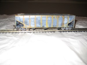 weathering ho scale trains