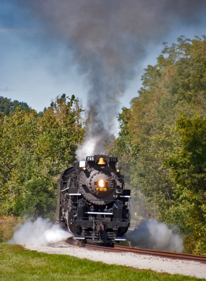 Nickel Plate Road 765 at the Cuyahoga Valley Scenic Railroad