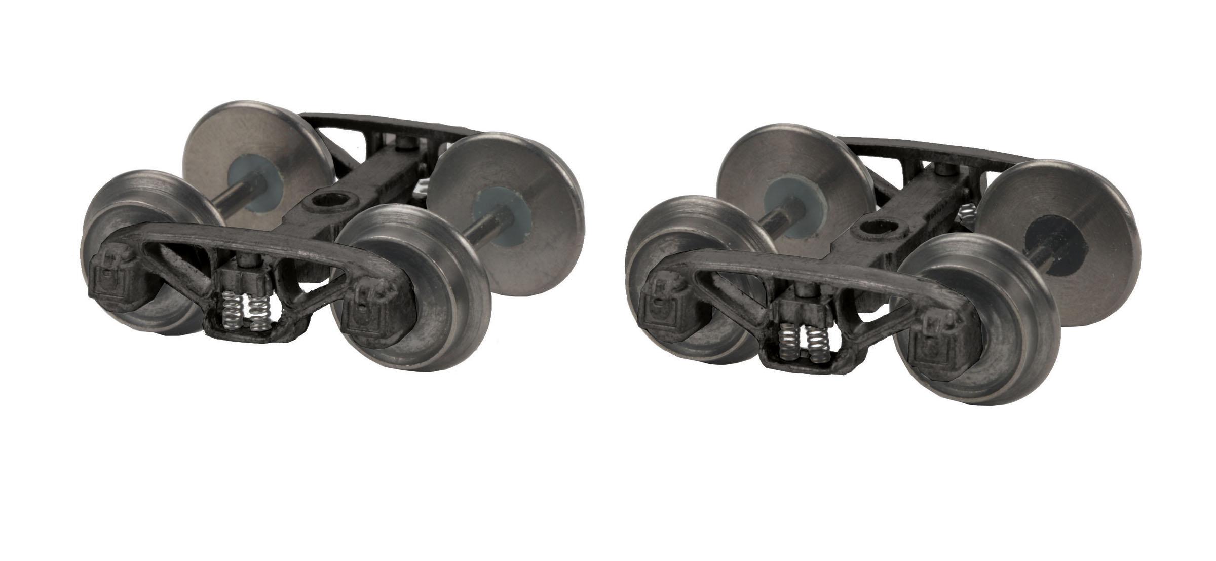 MTH 35-1104 S AAR Type Y Truck Set W/Scale Wheels