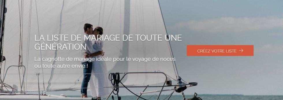 Liste noce de mariage sur internet