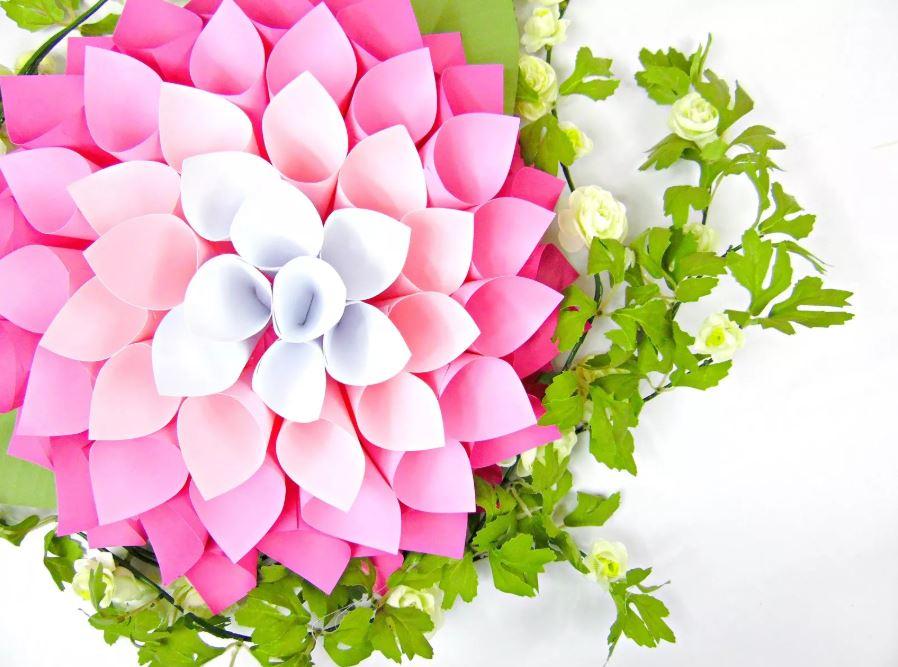 comment faire une rose en papier