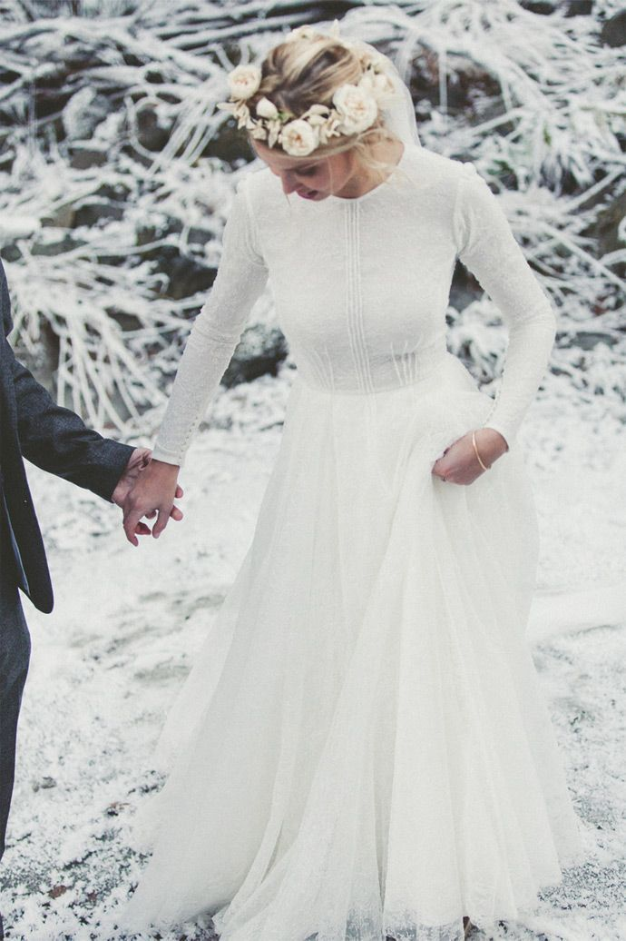mariage hiver deco