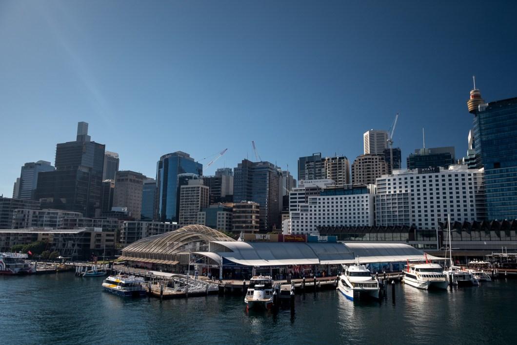 port de la ville de sydney en australie pacifique