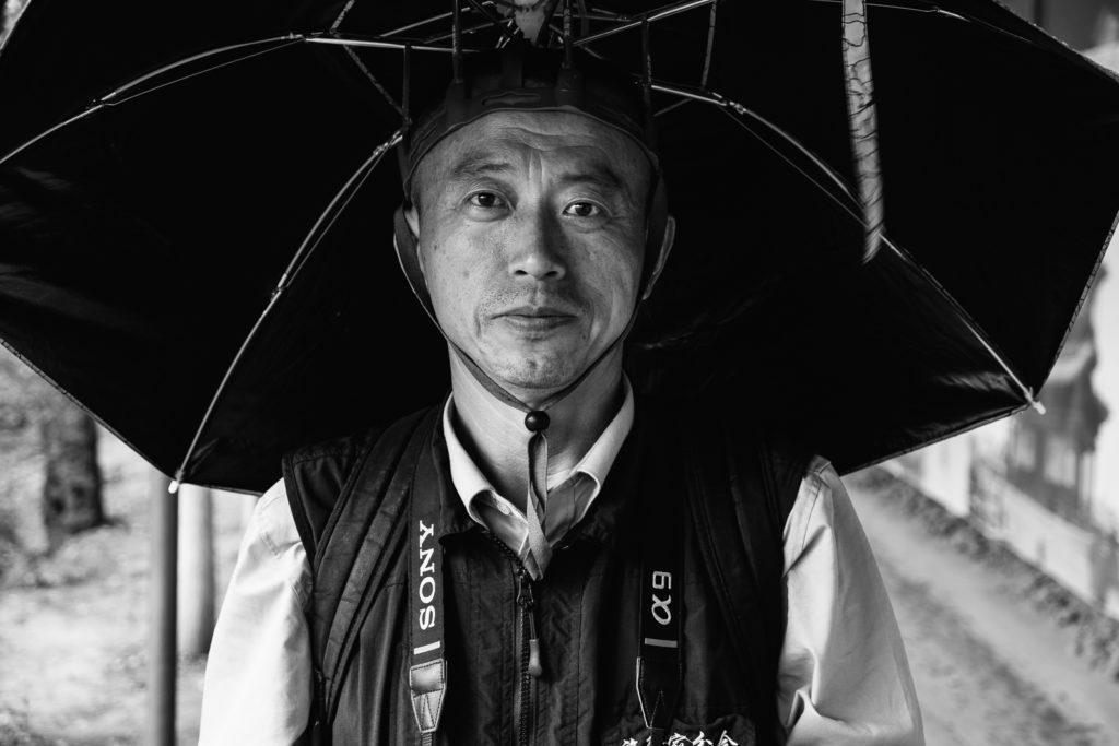 portrait chinois ville de pingyao noir et blanc