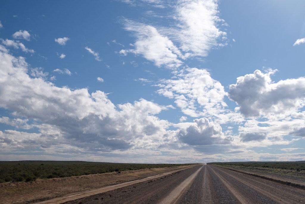 route peninsule valdes argentine patagonie