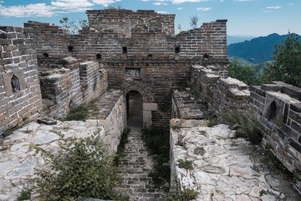 section non rénovée grande muraille de chine