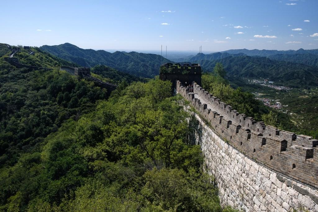 grande muraille de chine section mutianyu