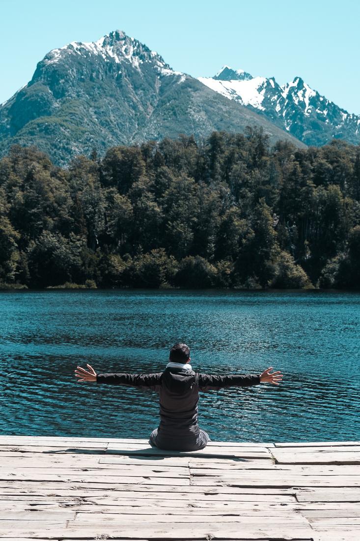 bariloche argentine circuito chico lac