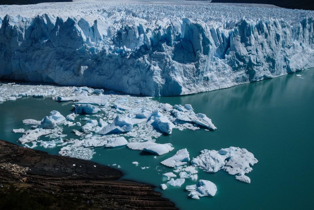 glacier perito moreno argentine el calafate