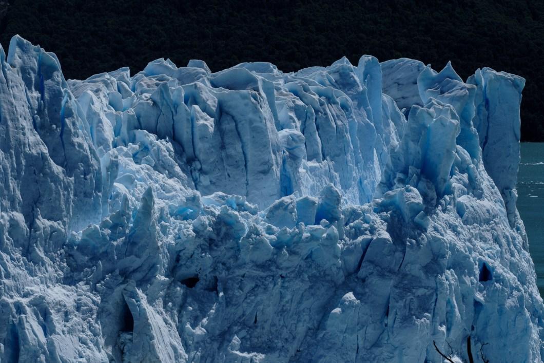 glacier perito moreno vue détail