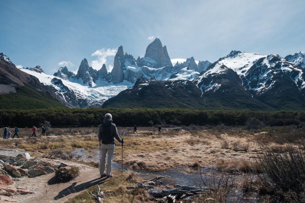 fitzroy montagne paysage patagonie el chaltén