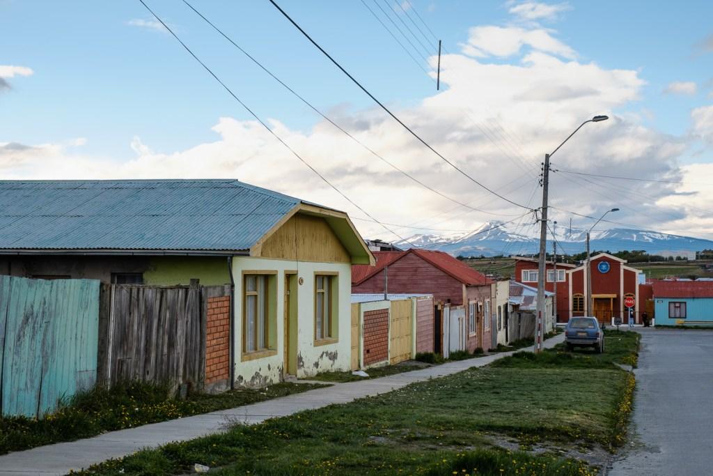 ville puerto natales patagonie chili
