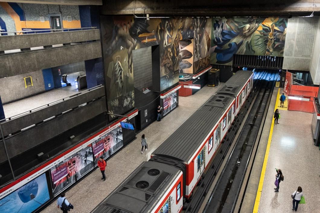 métro santiago chile chili capitale