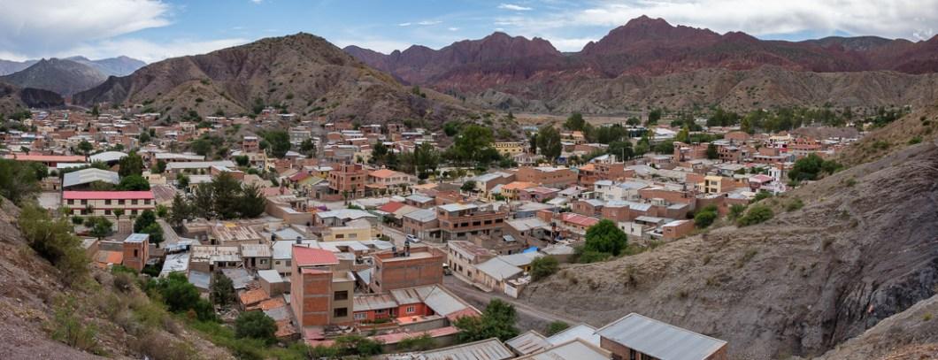 tupiza point de vue bolivie andes