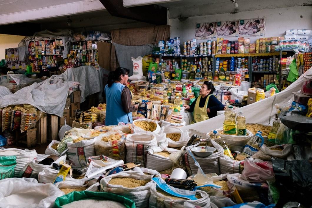 marché central bolivie sucre
