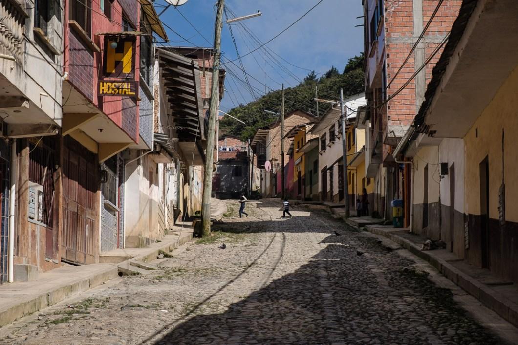 rues coroico bolivie