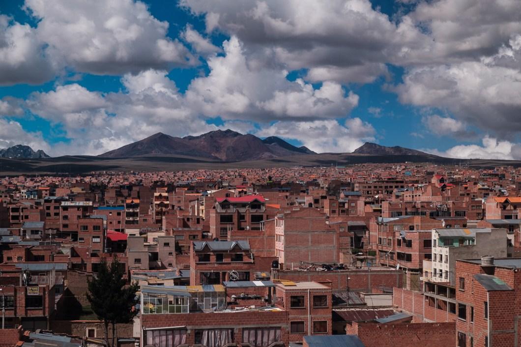la paz el alto bolivie