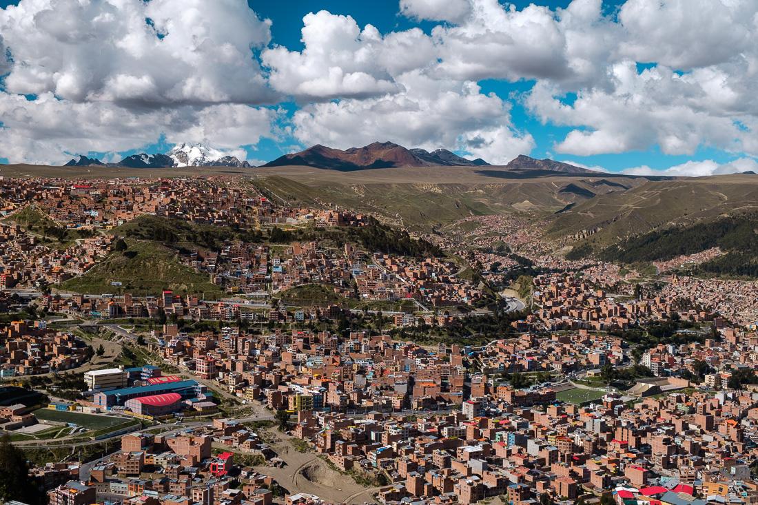 la paz capitale bolivie