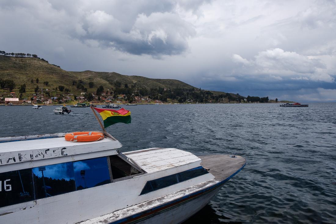 lac titicaca bus bateau