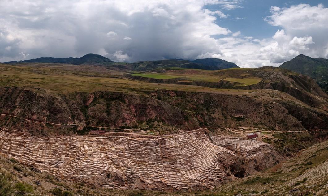 salinas moray vallée inca pérou