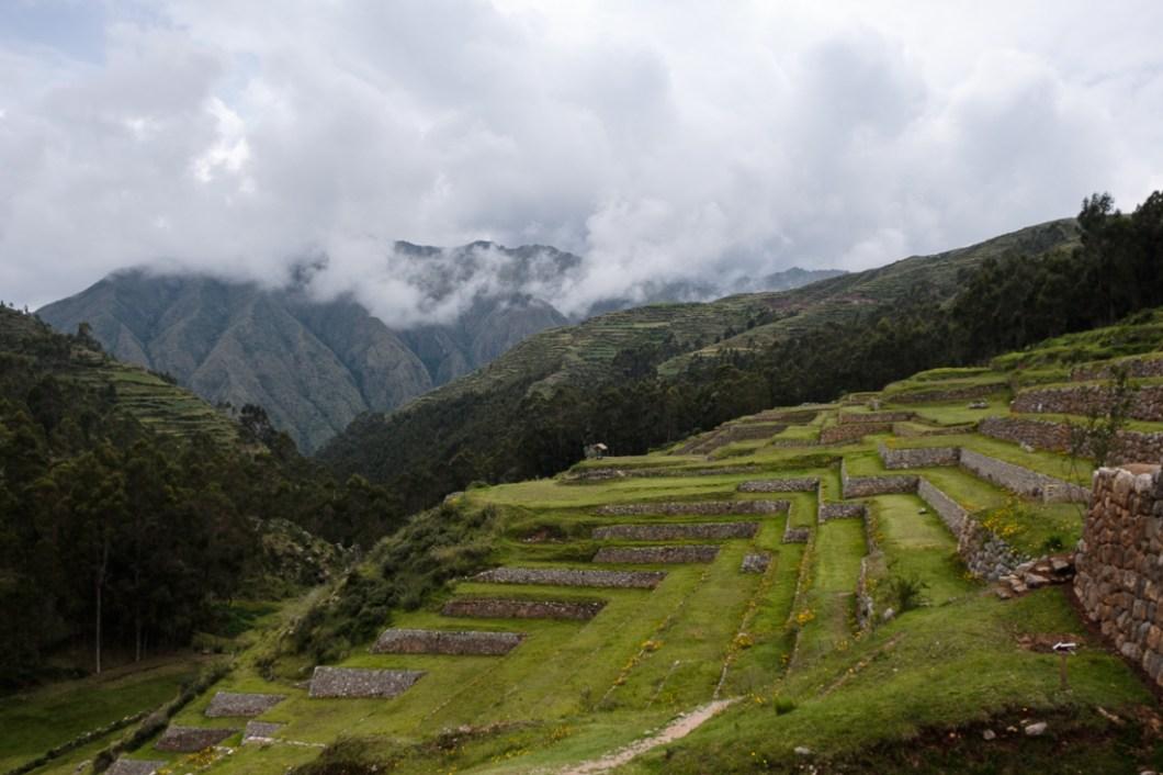 pérou terrasse incas