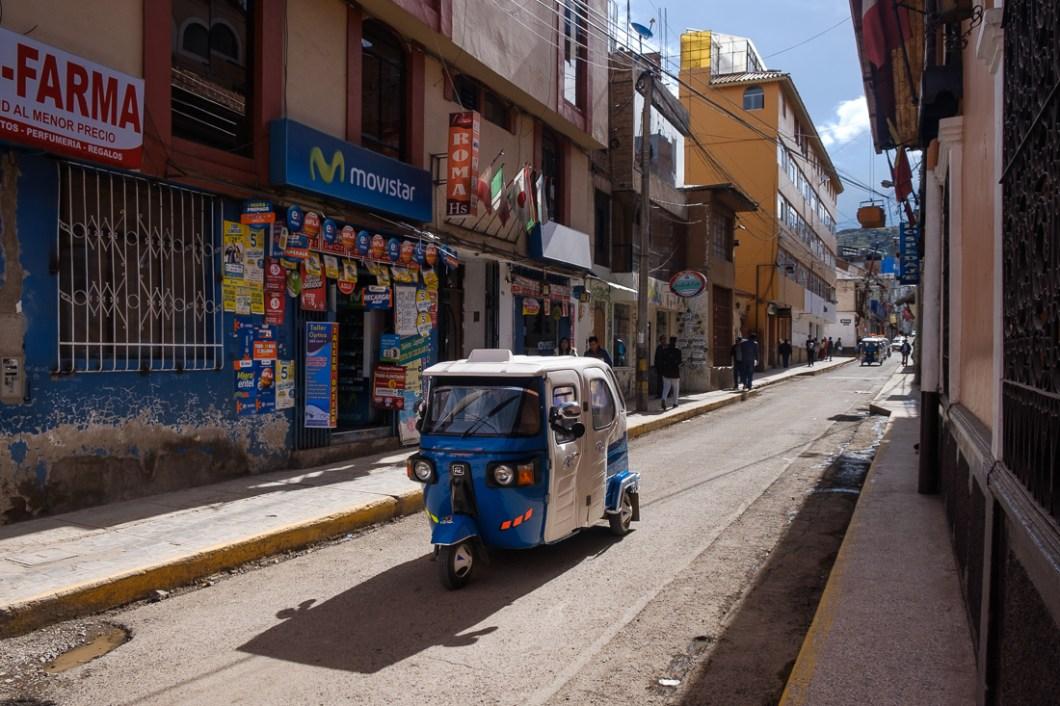 tuktuk pérou puno