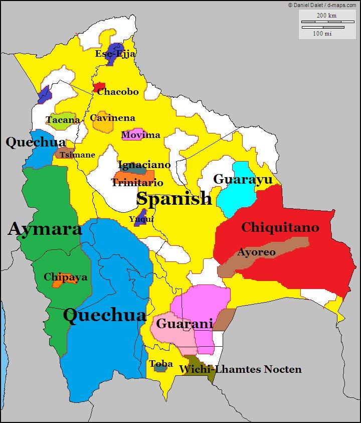 langues bolivie