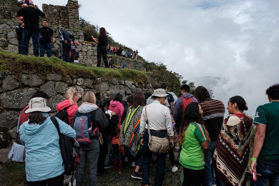 machu picchu touristes