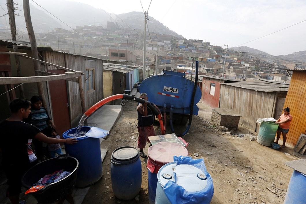 crise eau lima pérou