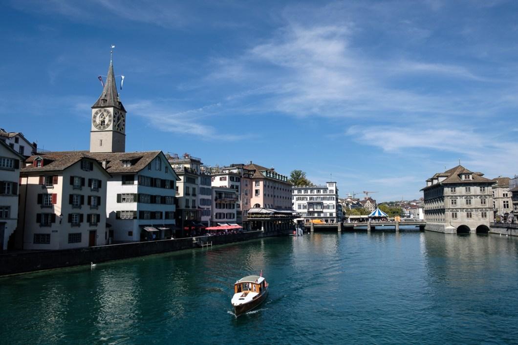 zurich suisse centre ville