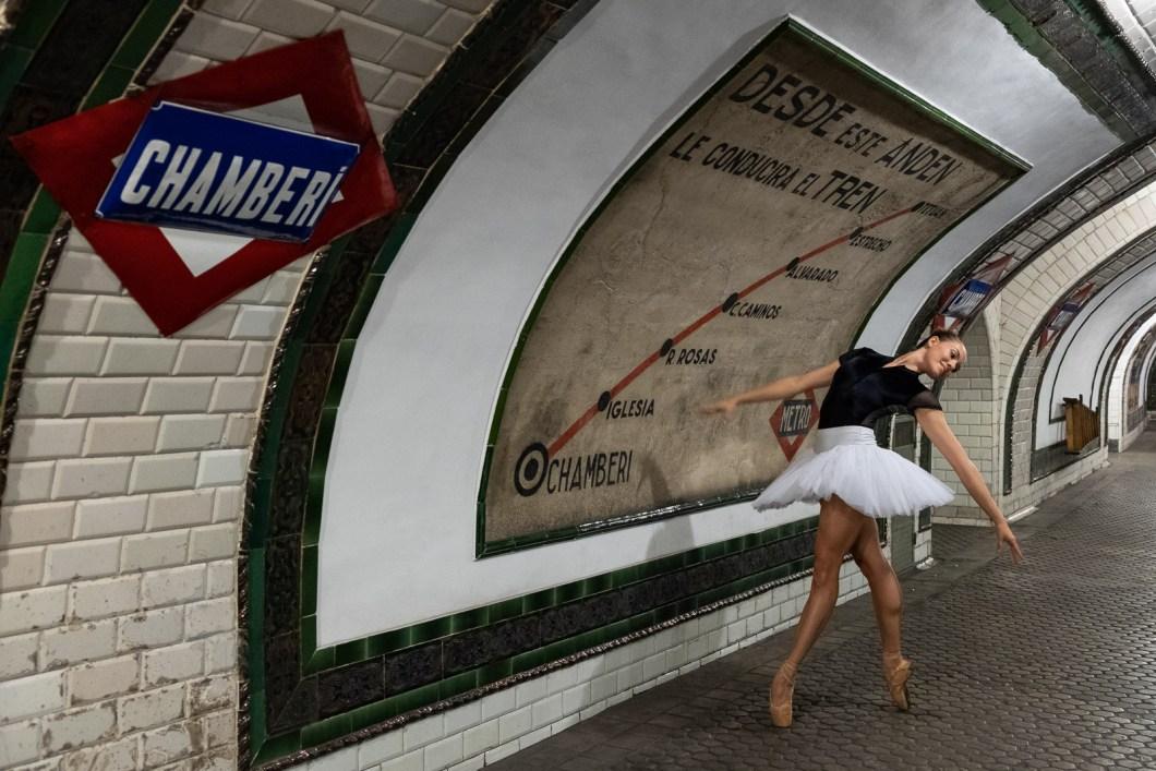 marcella madrid danse ballet métro