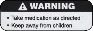 Main Warning Label