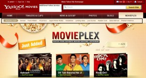 yahoo multiplex1 300x160 Yahoo India Launches MoviePlex, to Compete with Youtube for free Bollywood Movie Streaming!