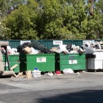 The Dumpsters on moving day