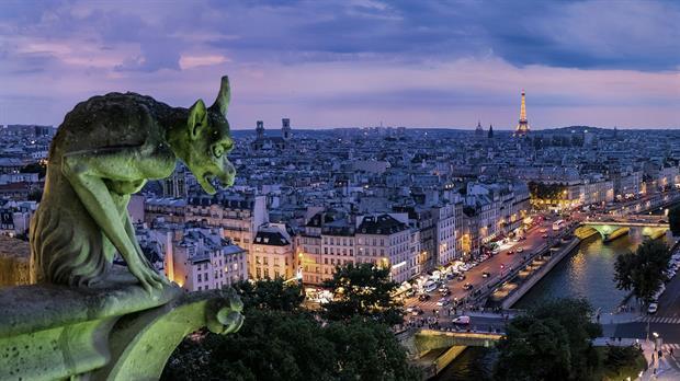 Lugares poco concurridos de París