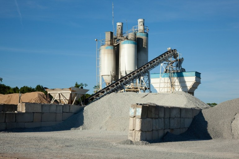 concrete processing