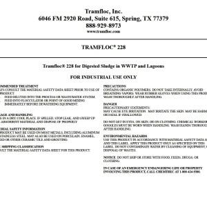 Tramfloc 228
