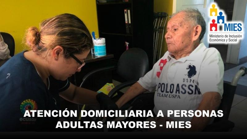 Atención Domiciliaria a Personas Adultas Mayores - MIES